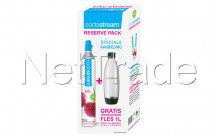 Sodastream - Special pack : 1 huurcilinder + gratis 1 liter fles voor play en source toestellen - 1053003310