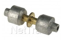 Universal - Lokring messing kupplung d. 2 mm nk-ms-00 - NKMS002
