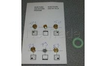 Beko - Leitungen-kit-butan-  g30 - 4431910057