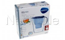 Brita - Marella cool blue + 4 x maxtra+ filterkartuschen - 1040846