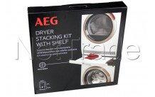 Aeg - Zwischenbaurahmen mit arbeitsplatte - skp11gw für waschmaschine trockner - 9029797942
