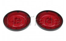 Nilfisk - Rote hinterräder (2 stücke)  coupe neo - 78602711