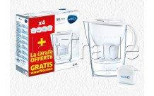 Brita fill&enjoy marella cool white + 4 maxtra + filter - 1040843