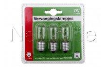 Universal - Lampe ersetzen nacht licht 7w/e14 für 18223