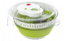 Emsa - Basic salatschleuder, kunstoff, grün - 512992