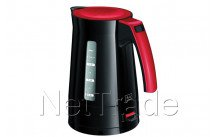 Melitta waterkoker enjoy aqua zwart rood - 6596347