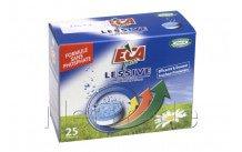 Eca - 25 tabletten für waschmaschine ohne phosphat