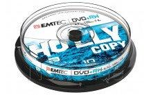 Emtec dvd + rw 4, 7 gb 4 x cb cakebox (10./stück) - ECOVPRW47104CB