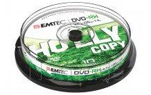 Emtec dvd-rw 4, 7 gb 4 x cb cakebox (10./stück) - ECOVRW47104CB