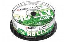 Emtec dvd-r 4,7gb 16x cb cakebox 25 st/pcs - ECOVR472516CB