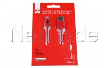 Universal - Charge und sync kabel 1mp ipod/ipad - 95636