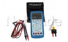Peaktech pt3335 - digital multimeter + temp.-40/1000 ° - P3335