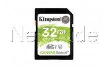 Kingston technology canvas select 32gb sdhc uhs-i klasse 10 flashgeheugen - SDS232GB