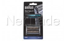 Braun - Rasur-kassette serie 3-32 s-silber - 81633297