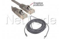 C2g cables - Utp-kabel 1, 5 m-cat5e 350 mhz cat5e rj45 (m)-schutz grau - 83142