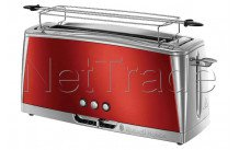 Russell hobbs - Broodrooster luna - solar red long slot - 2325056