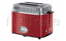 Russell hobbs - Broodrooster - retro ribbon red - 2168056