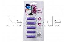 Wpro - 5 cartridges voor stofzuiger - lavendel - 484000008608