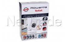 Rowenta - Hygiene - hoge filtratie + antigeur - pack/4 - ZR200720