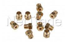 Whirlpool - Inspuitstukken set - aardgas  -  g20/25 - 480121103646