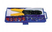 Cogex - Koffer mit kabelschuhzange + kabelendhülsen - 22106