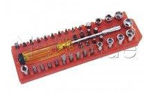 Cogex - Verstellbarer schraubendreher mit schraubeinsätzen - 16725