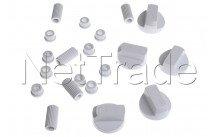 Universal kit von 5 button weiß - 228600066