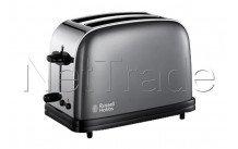 Russell hobbs - Sturm-grau lange schlitz toaster farben - 2139256