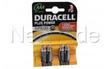 Duracell plus mn2400 lr03-aaa-1 .5v-bl. 4 s - MN2400