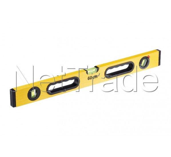 Cogex - Wasserwaage aluminium rechteckig 2 griffe mit 3 libellen - 48360