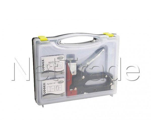 Cogex - Kombi tacker nagler heftklammerer, 4-14 mm - 60116