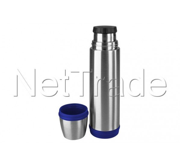 Emsa - Captain isolierflasche 1l edelstahl/blau - 502474