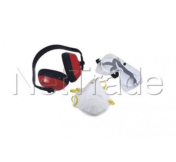 Cogex - Veiligheidskit - bril - masker - oorbeschermer - set 3st. - 77501