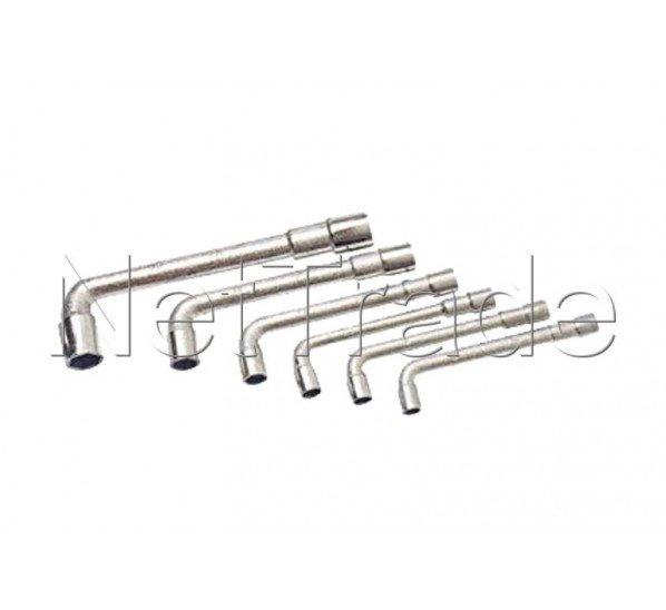 Cogex - Rohrschlüssel öffnen 6 stück von 8 bis 17 mm - 3503