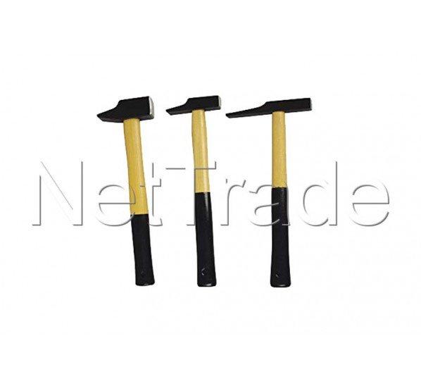Cogex - Hammer-set von 3 -  niethammer/schreinerhammer/elektrikerhammer, - 19403