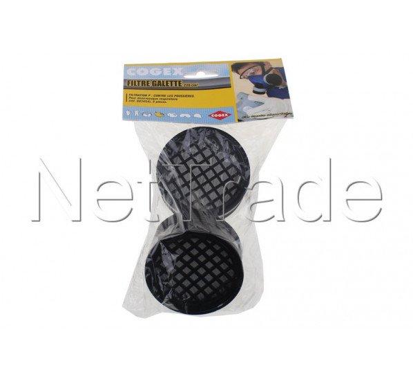 Cogex - Menge 2 ventil staubfilter. drahtpatronen - 83474